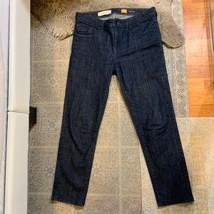 Pilcro and the Letterpress dark wash Jeans